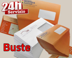 Tipografia.online Roma buste 24H